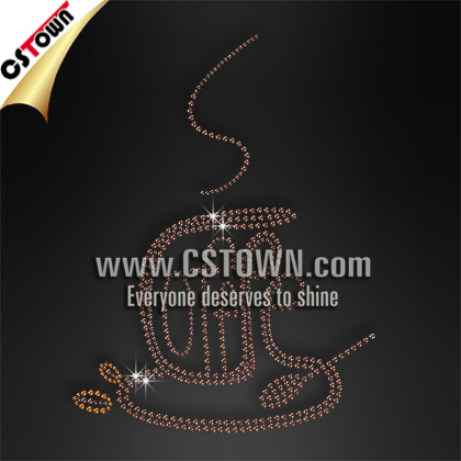 Custom wholesale rhinestone hot fix gems for clothes