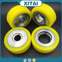 High Quality small rubber wheels for toys Custom polyurethane wheel