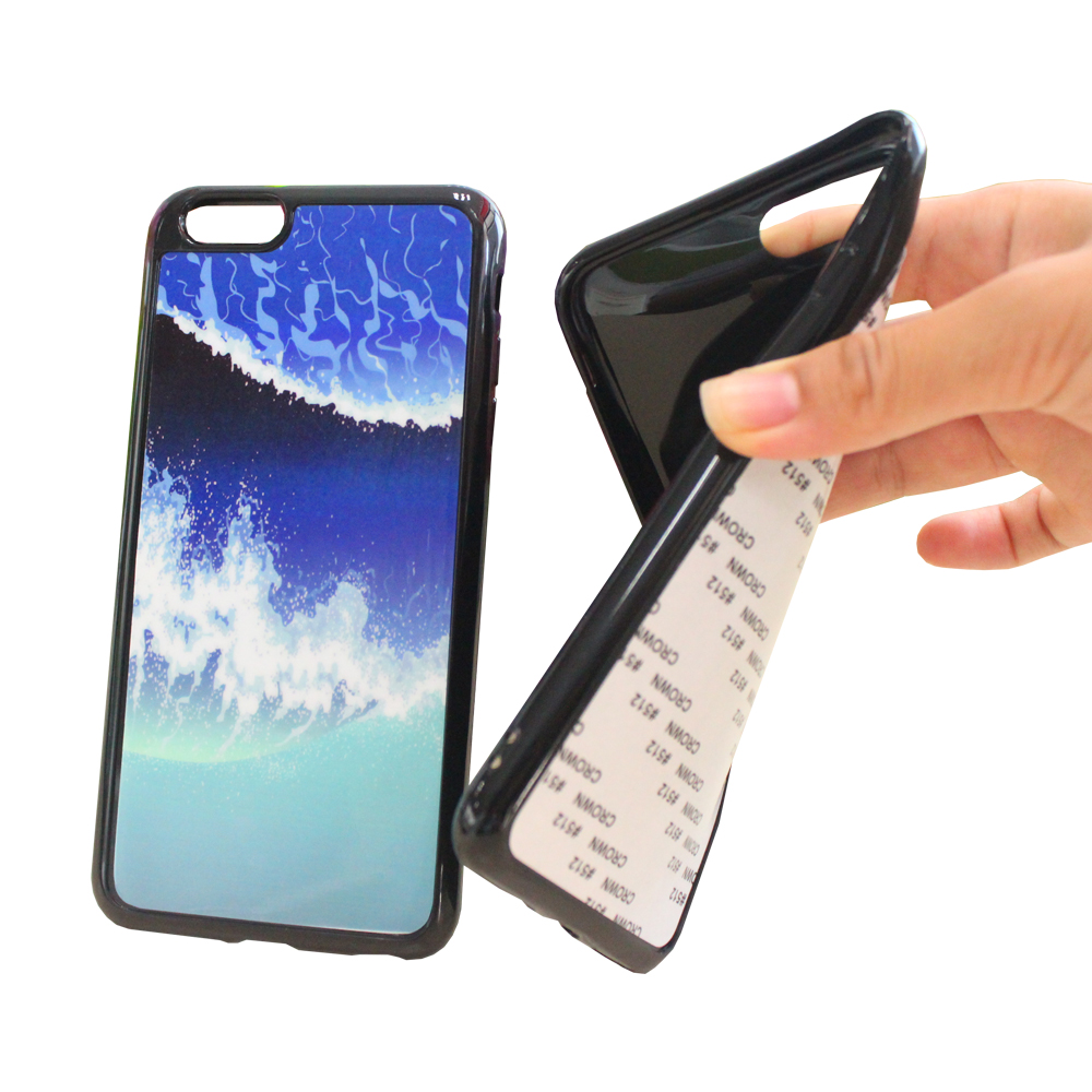 2018 Newest Blank Sublimation Custom 2D New Type TPU Phone <strong>Case</strong> For Heat Transfer Printing Logo Phone Protector Cover