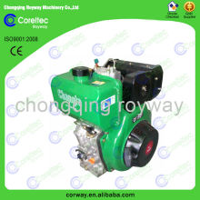 Trustworthy Manufacturer air cooled single cylinder 2 stroke electric start 10hp diesel engine for sale
