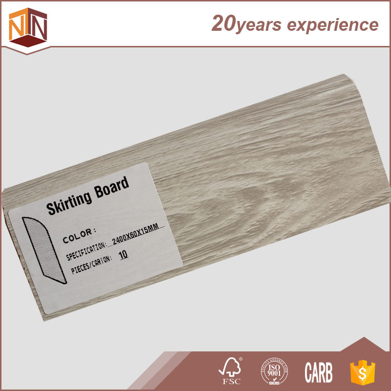 mdf and pvc laminate flooring accessory