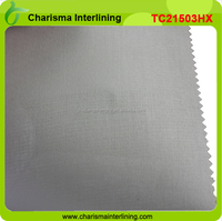 Shirt fusing Interlining cotton and polyester Pocketing Poly Cotton interlining