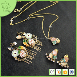 2016 New Products Factory Direct Wholesale Fantasy Jewelry Set