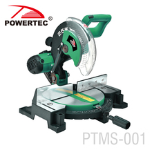 POWERTEC 1800w 255mm Electric Sliding table saw