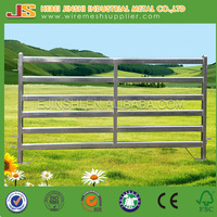 Galvanized Steel Pipe Corral Metal Fence Panel for Livestock , Farm Fence Panels , Horse Fence Panels