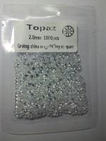 Wholesale natural gemstone white topaz round 1.0-3.0mm for jewelry making