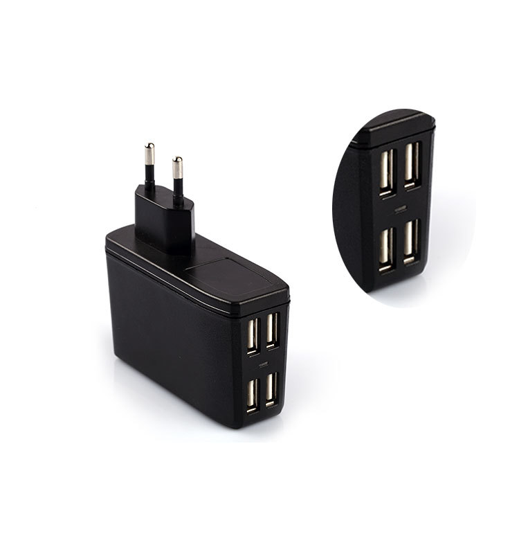 2016 New Products Multi Port 4 Port USB Wall Travel Charger
