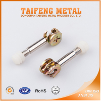 customized steel furniture fittings cam lock bolt