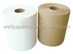 1ply Kraft color Industrial Roll Hand Towel 80m/115m/150m/300m