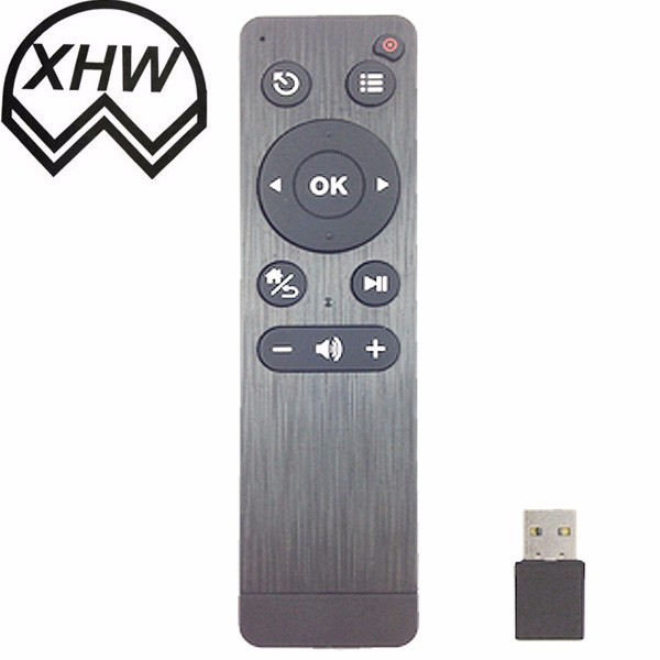 High Performance 2.4G RF remote control with air mouse