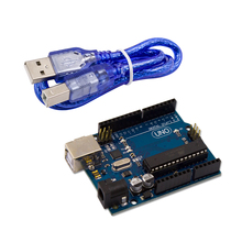 Hot Selling Uno R3 Module Board Atmega328P Atmega16U2 with Free USB Cable For Uno Starter Kit