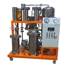 China TOP manufacture fire resistant oil filtration equipment to remove acid, pigment, water, air and other solid particulates