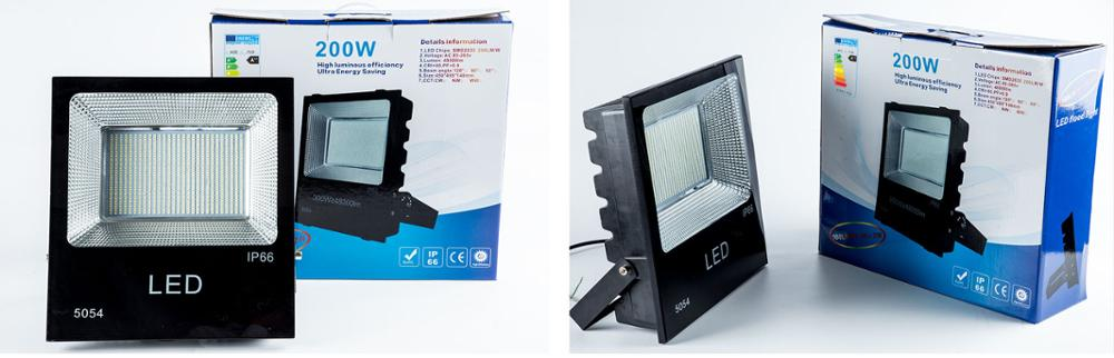 projecteur led outdoor lighting 160lm/w 50w 100w 150w 200w 300w led flood light ip66