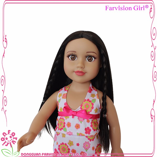 Factory american doll Summer Series custom doll in usa