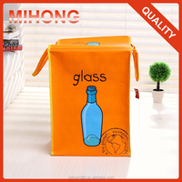 The most popular cheap wholesale pp laminated non woven 6 bottle Wine Bag