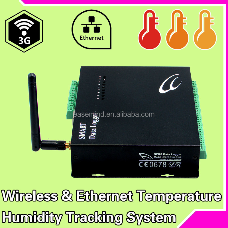 Wireless & Ethernet temperature humidity tracking hong kong <strong>manufacturers</strong> fire alarm control panel