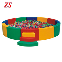 Indoor soft play equipment for children ball pit
