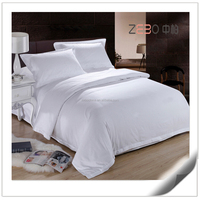 Nantong Elegant Hotel Bed Linen Set Custom King Size Hotel Brand Sheets