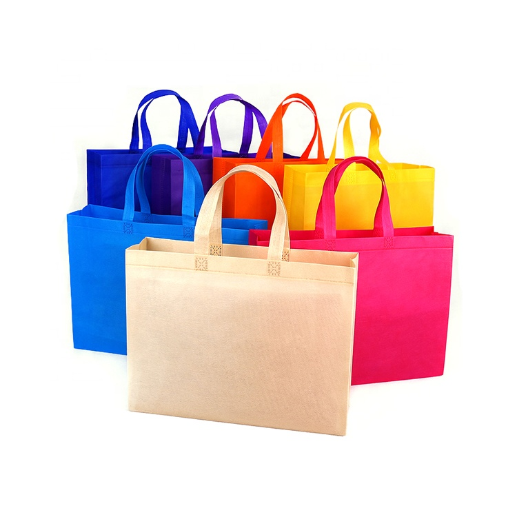 Wholesale Logo Design Promotional Price Recyclable <strong>Eco</strong> Non Woven Tote Bag