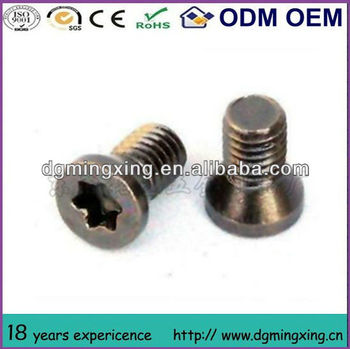Six-lobe Oval Head Machine Screw