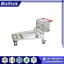 Effective Foldable Steel Humanized Store Transport Cart