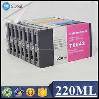Made in china wide format ink cartridge compatible ink cartridge for Epson 7800 T6031-T6039 ink cartridge