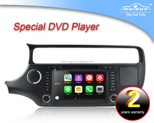New car dvd player with navigation for RIO 2015 with RDS/BT/USB/DVD/3G