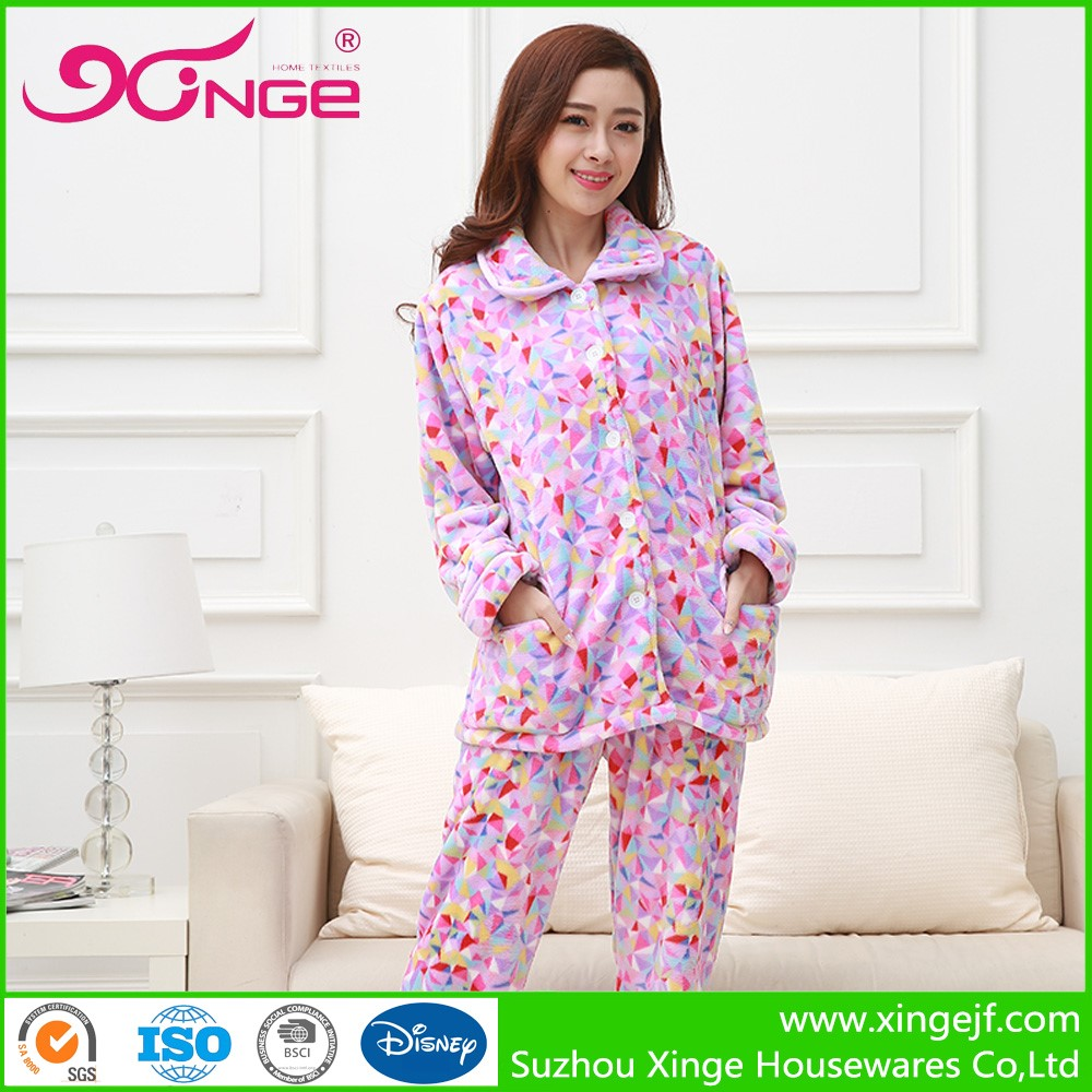 Promotional fleece medical pajamas fabric