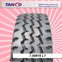 radial truck tires 750 16
