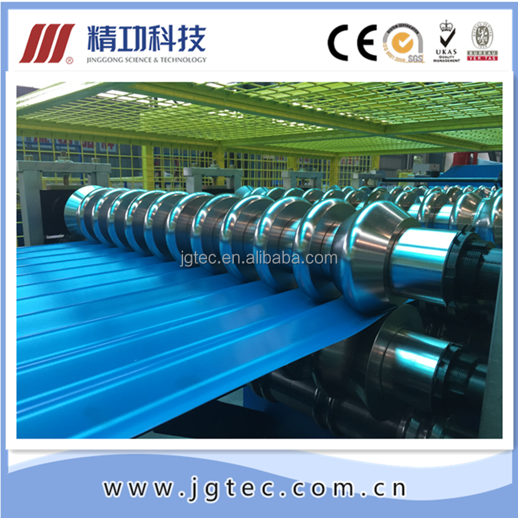 Comprehensive Steel Frame Double layer roll forming machine