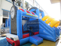 inflatable bounce house combo with slide