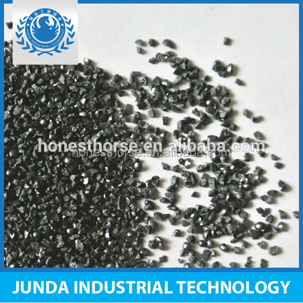 sandblasting media GH cast steel grit G25 for surface preparation for galvanic coatings