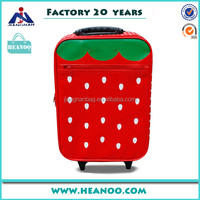 children travel trolley luggage bag with aluminum sash