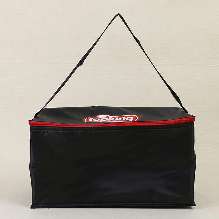 custom promotional 420D oxford cooler lunch delivery bag