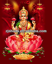 China supplier factory price pp plastic custom 3d photo picture 3d indian god pictures