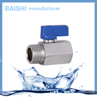 Mini Manual Female Brass Ball Valve
