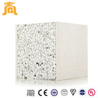 high quality light weight easy to install fireproof high quality reinforced light weight xps fiber cement sandwich panel