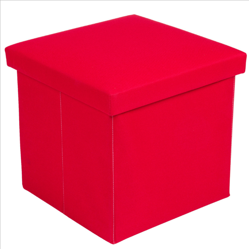 Promotional Custom Modern Style Bedroom Sex Furniture Red Ottoman Seat