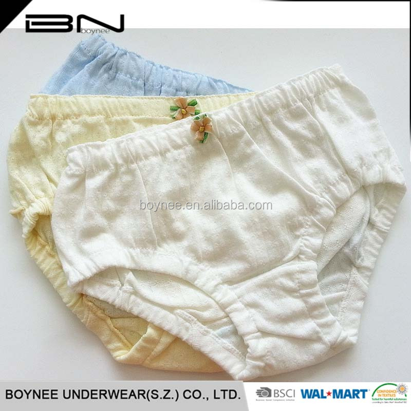 High Quality Customized Kids Thong Bamboo Underwear For Children