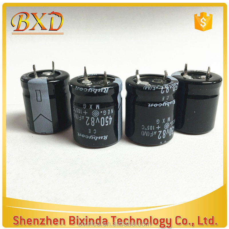 (Good Quality) DIP electrolytic capacitor 82UF 450V Size 22*25 Switching Mode Power Supply Capacitor