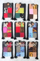 fashion smart phone size thai hand made cotton bag/w sling