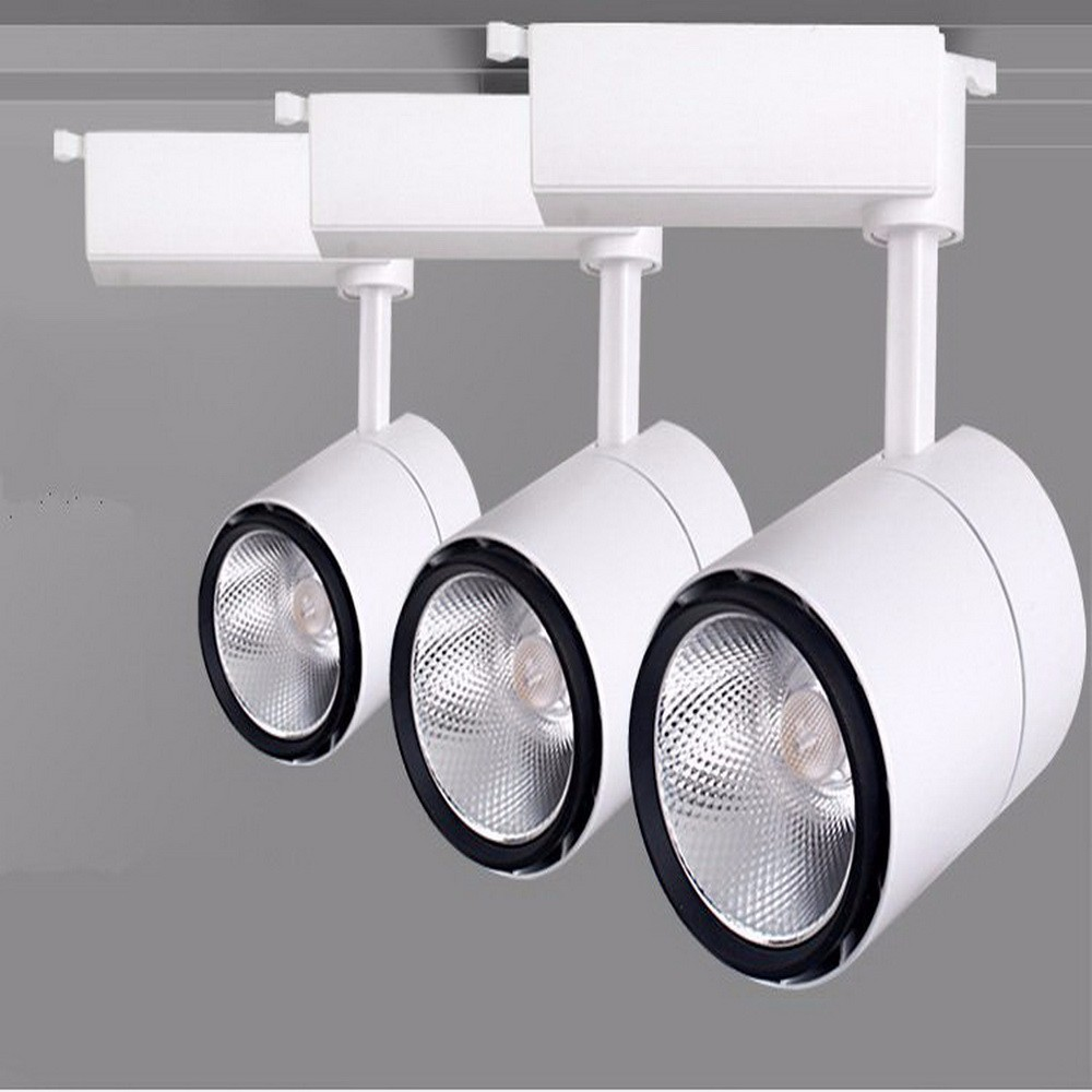 European market hot sell commercial 30w surface mounted led cob tracklight