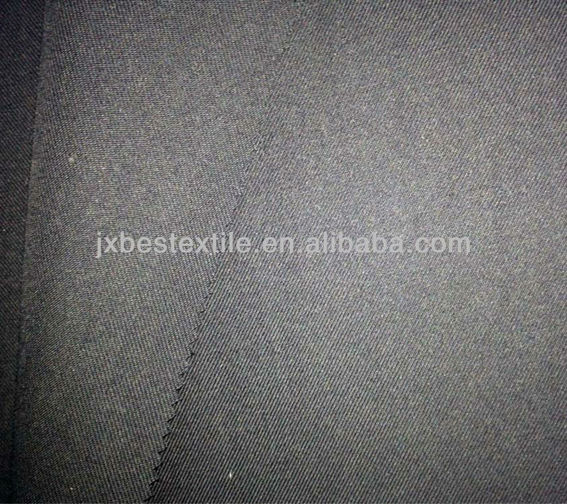 Semi-worsted Wool/Acrylic/Spandex Blended Twill Fabric for Hat