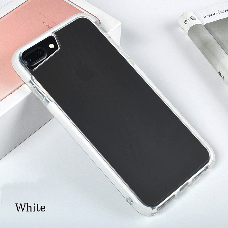 DFIFAN Dual Layer Protective Soft TPU Back Cover For Iphone 7 8, For Iphone 8 Soft Tpu Back case