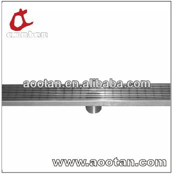 stainless steel trench drain , trench drain cover