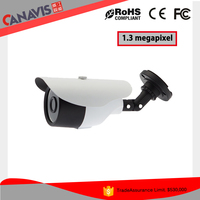 CANAVIS gold supplier metal housing analog ahd 1.3mp night vision surveillance camera hd