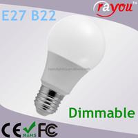 Decorative smd 5030 led bulb e27, TUV 220 volt led light bulbs, daylight led dimmable bulb light E27