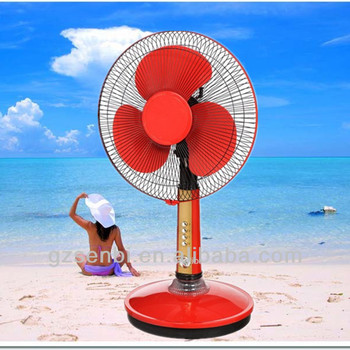 16 inch table solar fan china manufacturer solar outdoor fan