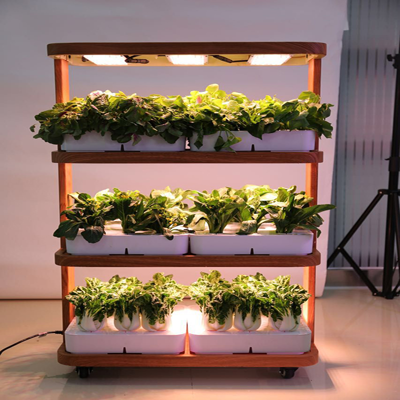Automatic home garden aquaponics hydroponic farming supplies complete vertical hydroponic system for grow vegetables