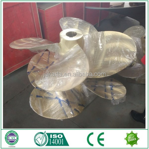 All kinds of marine fixed pitch propeller in copper Cu3 for sales